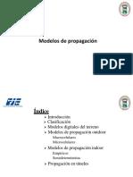 Cap 2.2 Modelos de Propagacion