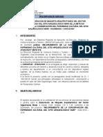 Tdr - Elaboracion de Maqueta