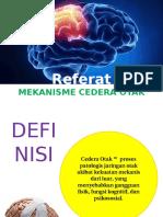 Mekanisme Cedera Otak