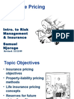 Insurance Pricing