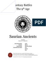 The Ninth Age Saurian Ancients 1 0 0