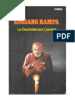 Lobsang Rampa T - La Decimo Tercera Candela