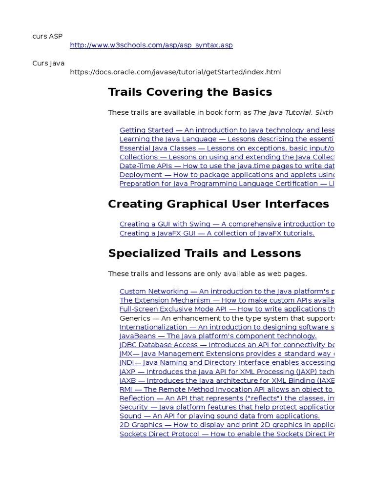 Java basic tutorials image collections any tutorial examples oracle docs java tutorial image collections any tutorial examples asp java software platform java programming language baditri Images