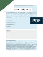 Quiz de Quimica Ambiental