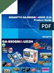 Gigabyte GA-880GMA-UD2H Motherboard Product Guide