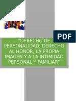 Derechos fundamentales (de personalidad)