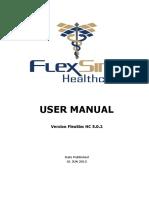 FlexSimHC 5.0 UserManual