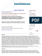 Business Process Modeling and Production Control System Specification in the Self-Adhesive Industry