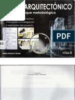 Diseño Arquitectonico Enfoque Metodologico - Rafael Martínez Zárate -ArquiLibros - AL