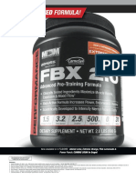 FBX 2.0 (Full Blown Extreme) Pre Workout by Max Muscle Sports Nutrition