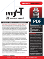 My-T Natural Testosterone Support by Max Muscle Sports Nutrition