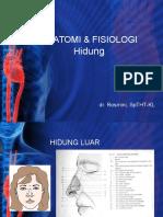 Anatomi & Fisiologi Nasal
