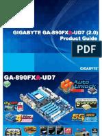 Gigabyte GA-890FXA-UD7 Motherboard Product Guide