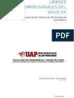 Lideres Empresariales Del Siglo XX