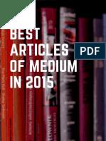 Best Articles of Medium in 2016