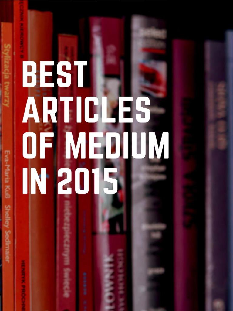 Best articles of medium in 2016 web browser mobile app fandeluxe Gallery