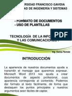- Formato de documentos - Uso de Plantillas.pdf
