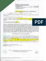 Algunos folios reales de las propiedades de Omar Yunes en Horacio 1119