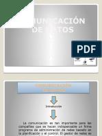 Comunicacion de Datos