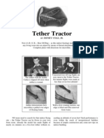 Tether Tractor - a Free-Flight Model Airplane
