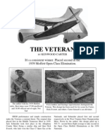 The Veteran - a Free-Flight Model Airplane