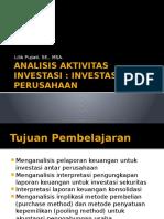 Analisis Aktivitas Investasi Antar Perusahaan