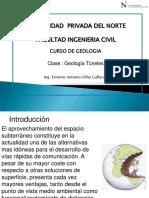 Clase 14 Geología Tuneles