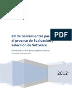 Kit de herramientas para el proceso de evaluación y selección de software