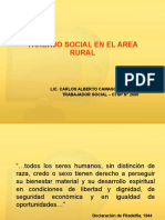 Trabajo Social en Área Rural