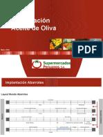 Implantación Aceite de Oliva - Marzo 2016