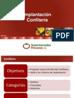 Implantación Confitería - Abril 2016