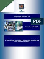 Budget Citoyen Pour l'Année 2016