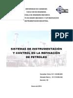 Sistemas de Instrumentacion y Control Refinacion de Petroleo (1)