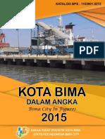 02-Kota Bima Dalam Angka 2015
