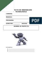 Proyecto de Innvación Tecnologica