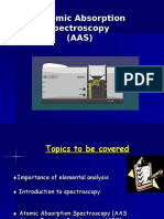 Spektroskopi Serapan Atom AAS