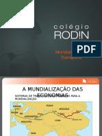 9ano - Geo - Mundialização e Transporte