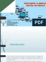 Descubrir la brecha digital en México