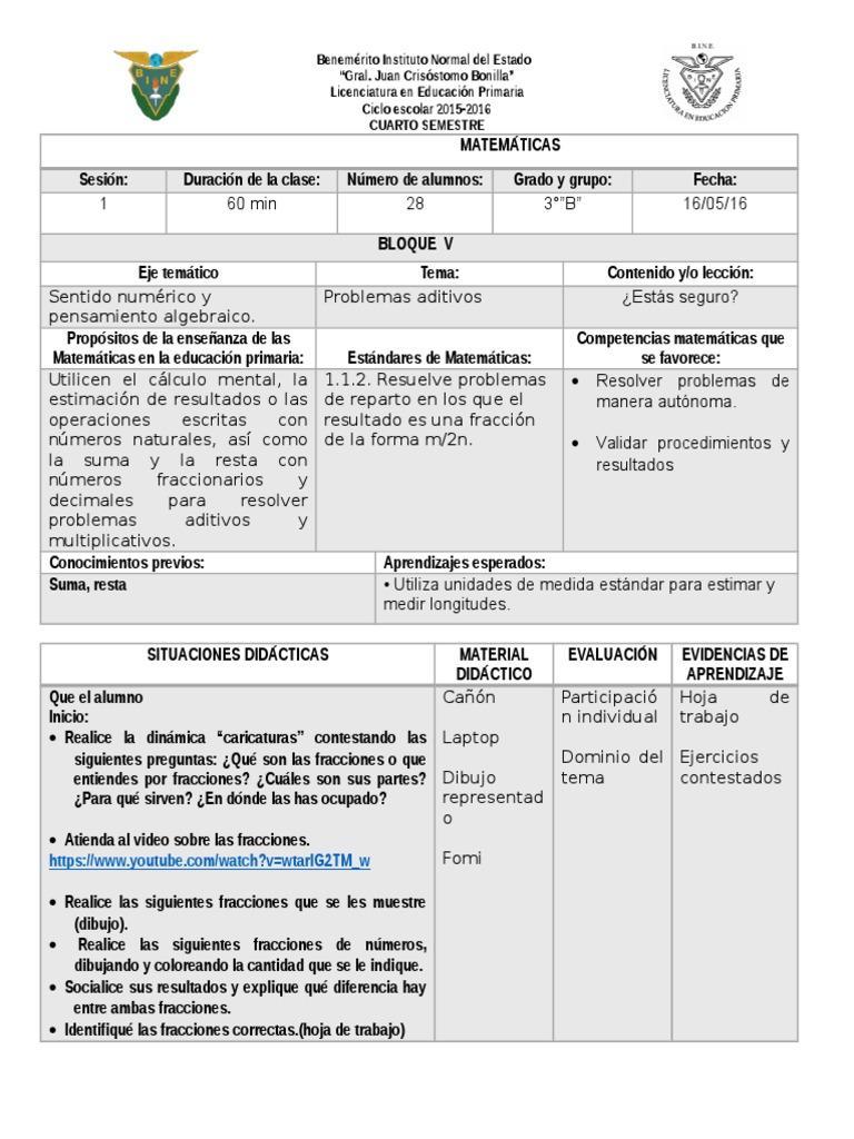 Único Fracción De Segundo Grado Hoja De Trabajo Colección de ...