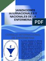 Organizaciones Internacionales y Nacionales de Enfermeria