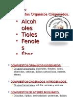 Quimica de Orgánicos Oxigenados