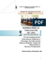 DIRECTIVA FINALIZACION 2013