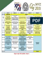 Programa Expovet 2016