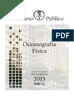 26 - Prova Objetiva de Oceanografia Física