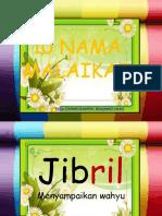 namamalaikat-130605091952-phpapp02