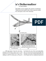 Korda's Dethermalizer - a Free-Flight Model Airplane