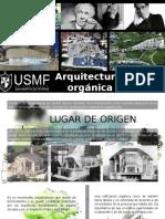 ARQUITECTURA ORGANICA.pptx