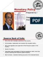 RBI Q3 Monetory Policy