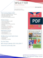 BIFS Newsletter, 2016-05-20 (English)