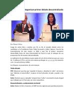 Debate Presidencial Descentralizado